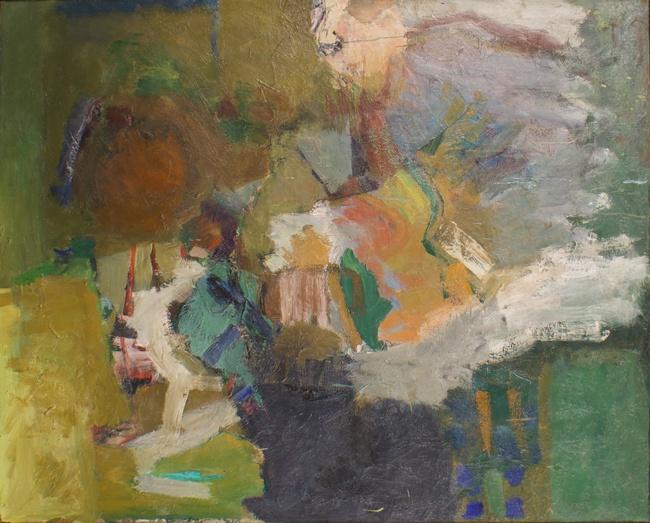 Nell Sinton, 1961, 40″ x 50″