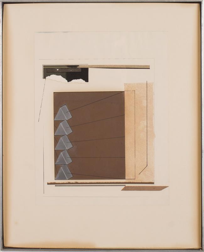 Patrick Tidd, 1964, 13″ x 10.5″